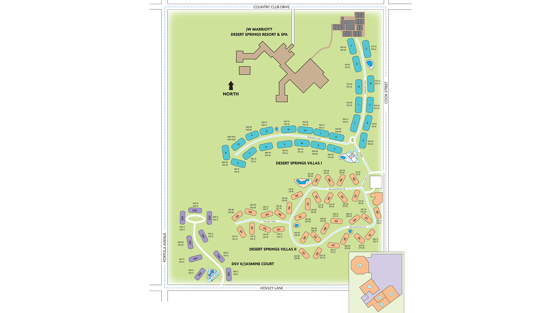 marriott desert springs villas ii resort map Map Marriott S Desert Springs Villas Ii Marriott Vacation Club marriott desert springs villas ii resort map