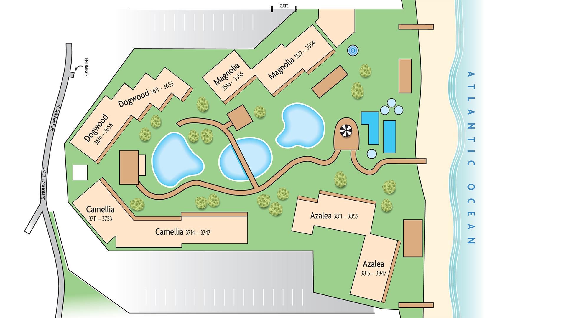 Map | Marriott's Monarch Sea Pines Map on hilton head resort map, hilton head neighborhood map, beaufort map, st. james plantation map, channelside district map,