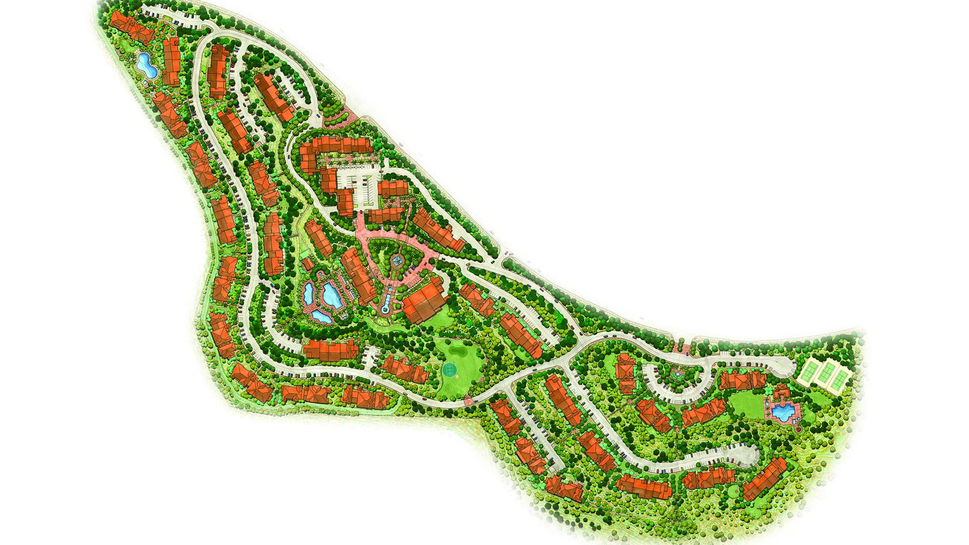 Map Marriott S Newport Coast Villas