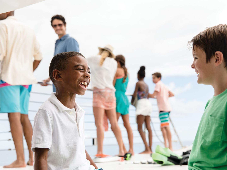 Marriott's Aruba Ocean Club Catamaran Excursion. Marriott's Aruba Ocean Club is located in Palm Beach,  Aruba.