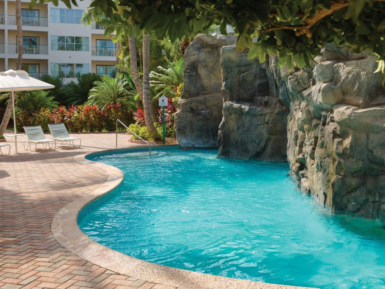Marriott's Aruba Ocean Club Quiet Pool. Marriott's Aruba Ocean Club is located in Palm Beach,  Aruba.