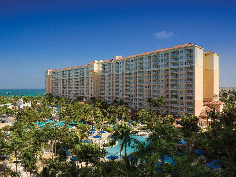 Marriott's Aruba Surf Club<span class='trademark'>®</span> Exterior. Marriott's Aruba Surf Club<span class='trademark'>®</span> is located in Palm Beach,  Aruba.