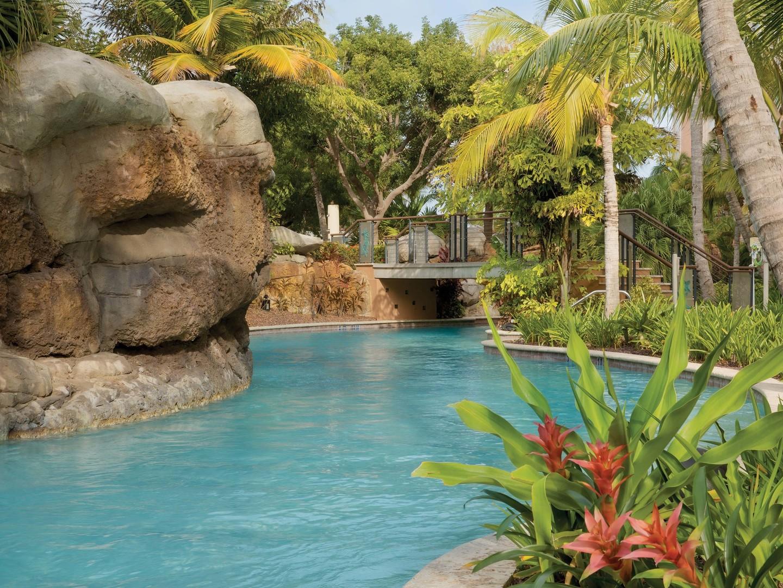 Marriott's Aruba Surf Club<span class='trademark'>®</span> Main Pool. Marriott's Aruba Surf Club<span class='trademark'>®</span> is located in Palm Beach,  Aruba.