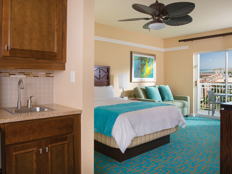 Marriott's Aruba Surf Club<span class='trademark'>®</span> Villa Guest Bedroom. Marriott's Aruba Surf Club<span class='trademark'>®</span> is located in Palm Beach,  Aruba.