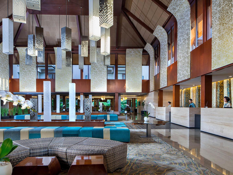 Marriott's Bali Nusa Dua Gardens Lobby. Marriott's Bali Nusa Dua Gardens is located in Nusa Dua,  Indonesia.