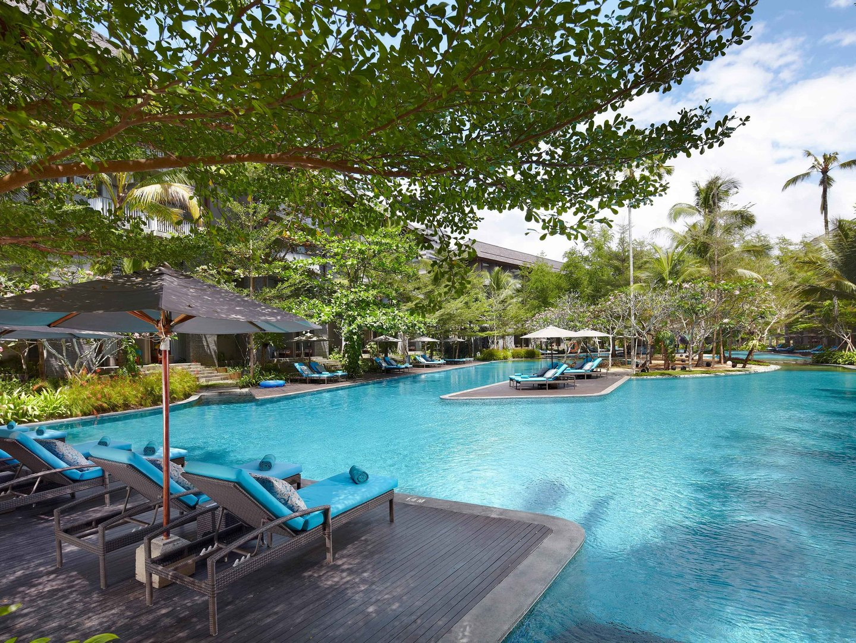 Marriott's Bali Nusa Dua Gardens Lagoon Pool. Marriott's Bali Nusa Dua Gardens is located in Nusa Dua,  Indonesia.