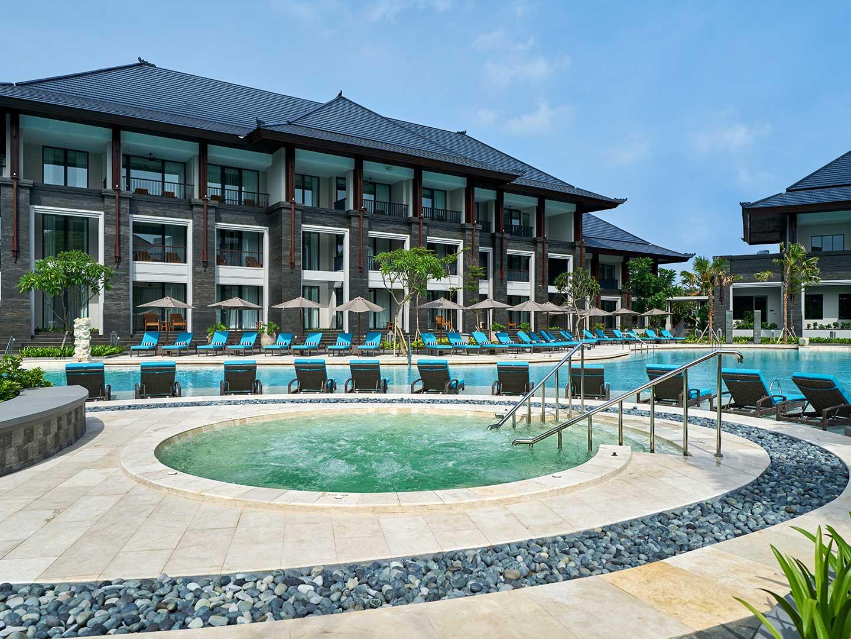 Marriott's Bali Nusa Dua Gardens Whirlpool Spa. Marriott's Bali Nusa Dua Gardens is located in Nusa Dua,  Indonesia.