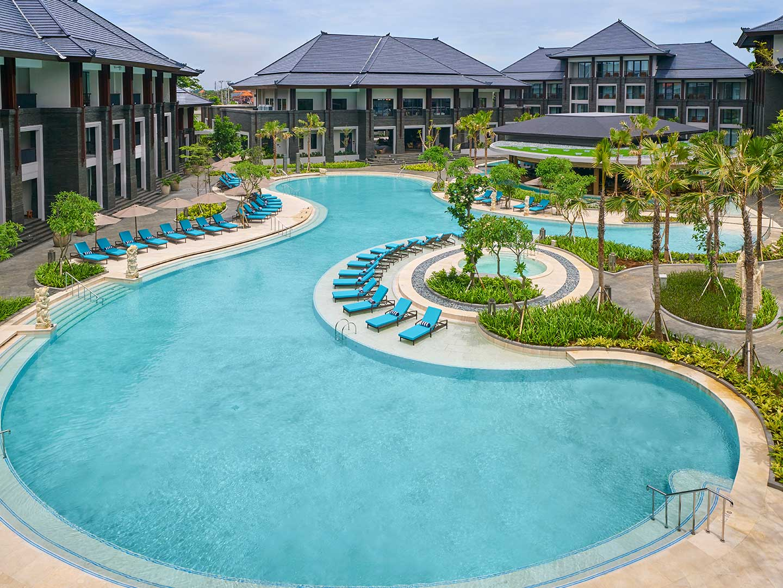 Marriott's Bali Nusa Dua Gardens Exterior. Marriott's Bali Nusa Dua Gardens is located in Nusa Dua,  Indonesia.
