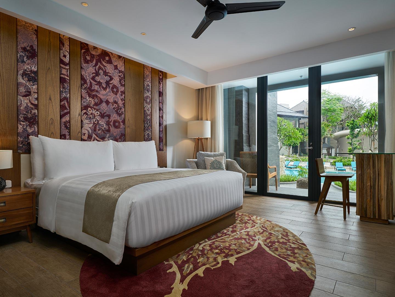 Marriott's Bali Nusa Dua Gardens King Guest Room. Marriott's Bali Nusa Dua Gardens is located in Nusa Dua,  Indonesia.
