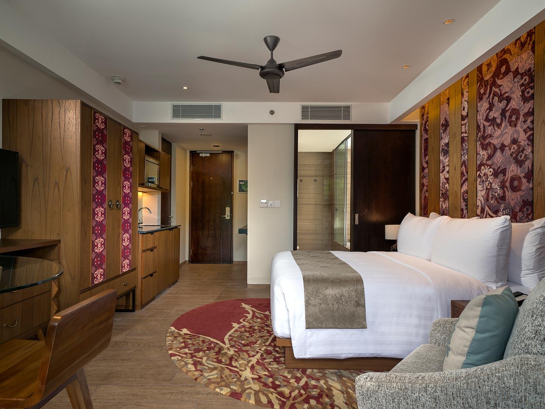 Marriott's Bali Nusa Dua Gardens King Guest Bedroom. Marriott's Bali Nusa Dua Gardens is located in Nusa Dua,  Indonesia.