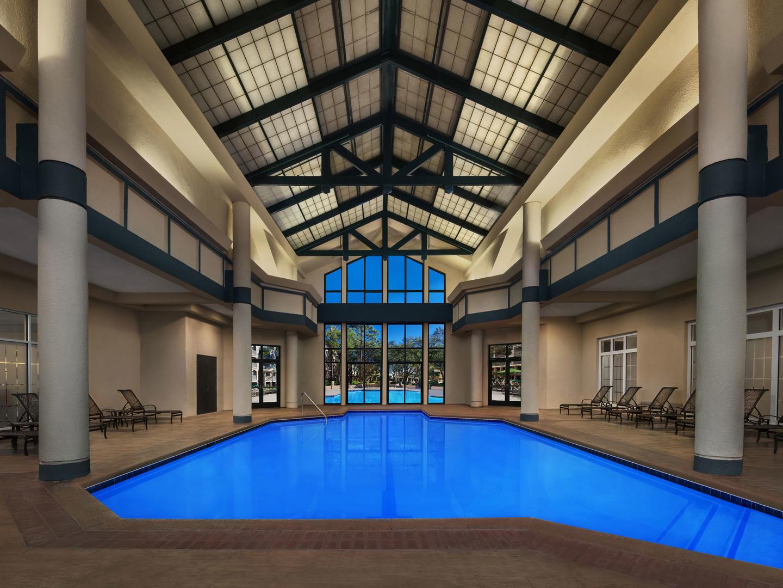 Marriott's Barony Beach Club Indoor Pool. Marriott's Barony Beach Club is located in Hilton Head Island, South Carolina United States.