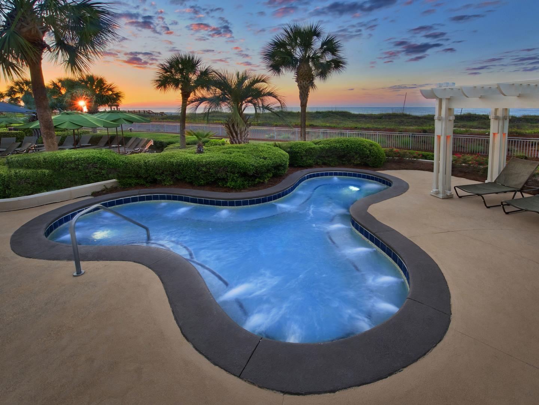 Marriott's Barony Beach Club Whirlpool Spa. Marriott's Barony Beach Club is located in Hilton Head Island, South Carolina United States.