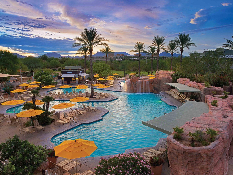 Marriott's Canyon Villas Main Pool. Marriott's Canyon Villas is located in Phoenix, Arizona United States.