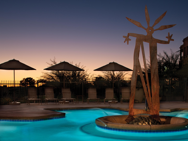 Marriott's Canyon Villas Quiet Pool. Marriott's Canyon Villas is located in Phoenix, Arizona United States.