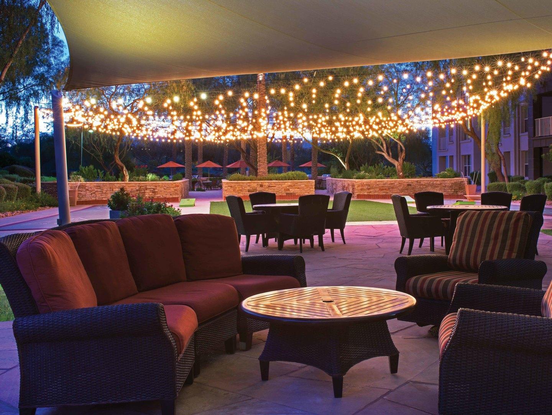 Marriott's Canyon Villas Cholla Courtyard. Marriott's Canyon Villas is located in Phoenix, Arizona United States.