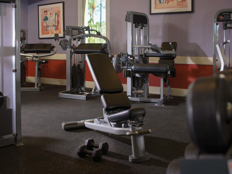 Marriott's Canyon Villas Fitness Center. Marriott's Canyon Villas is located in Phoenix, Arizona United States.