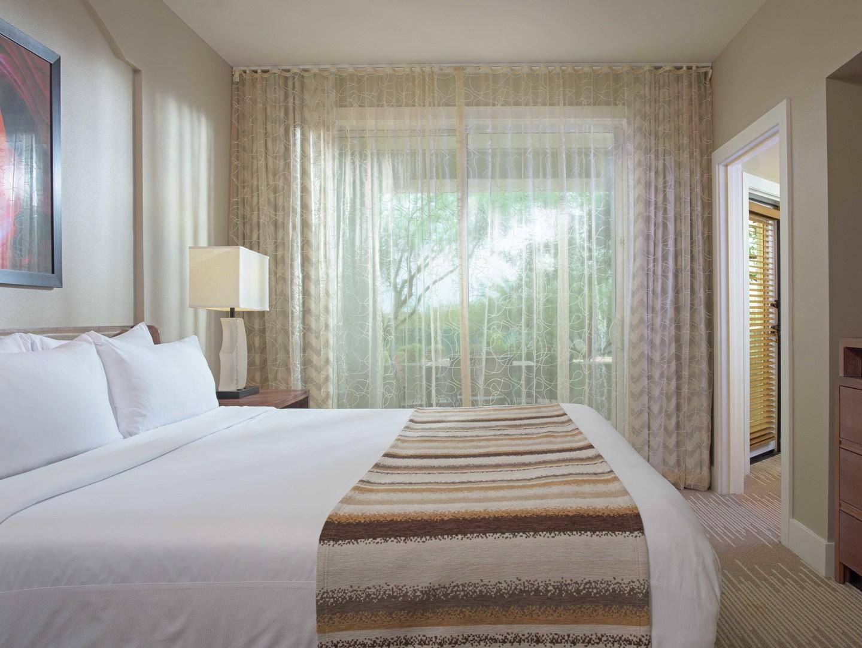 Marriott's Canyon Villas Villa Master Bedroom. Marriott's Canyon Villas is located in Phoenix, Arizona United States.
