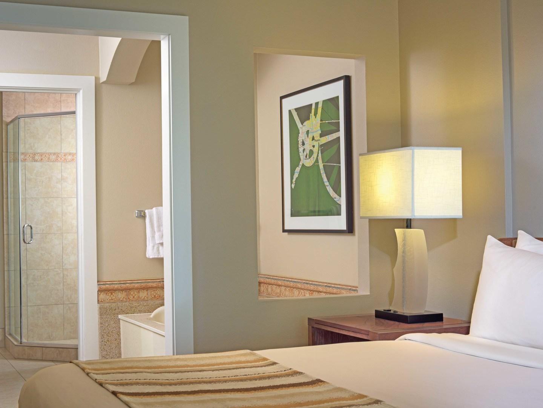 Marriott's Canyon Villas Villa Master Bathoom / Bedroom. Marriott's Canyon Villas is located in Phoenix, Arizona United States.