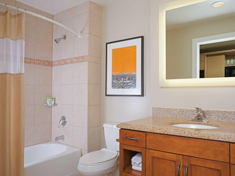 Marriott's Canyon Villas Villa Guest Bathroom. Marriott's Canyon Villas is located in Phoenix, Arizona United States.