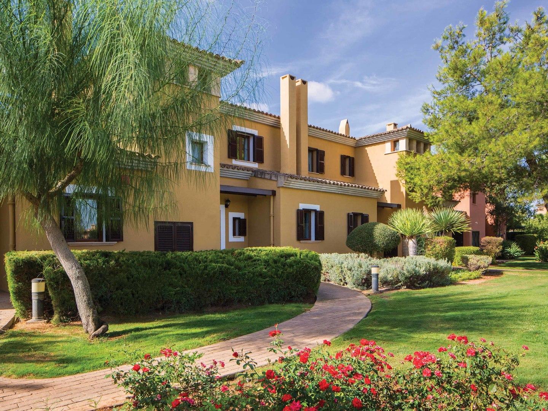 Marriott's Club Son Antem Exterior. Marriott's Club Son Antem is located in Mallorca,  Spain.