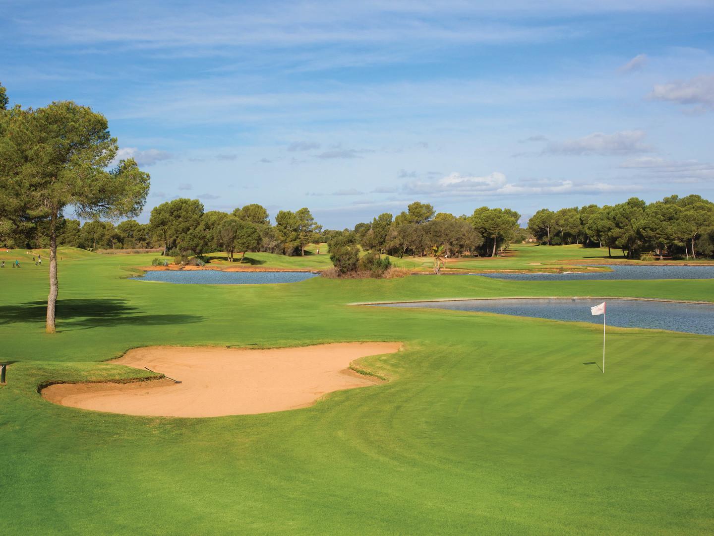Marriott's Club Son Antem Resort Golf. Marriott's Club Son Antem is located in Mallorca,  Spain.