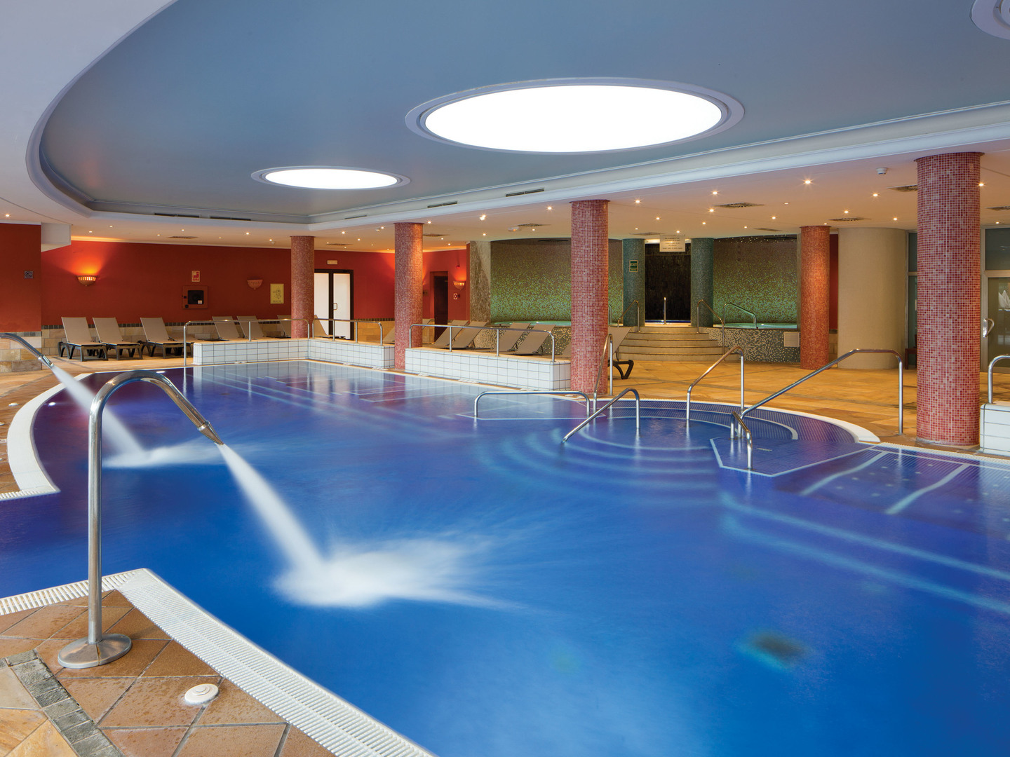 Marriott's Club Son Antem Indoor Spa and Pool. Marriott's Club Son Antem is located in Mallorca,  Spain.