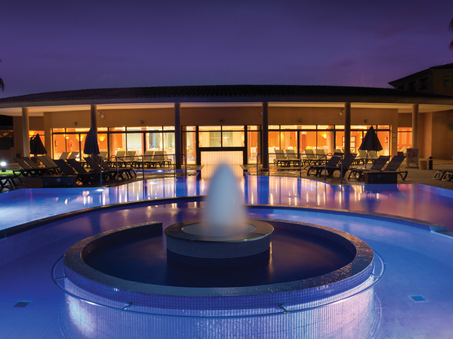 Marriott's Club Son Antem Outdoor Pool and Spa. Marriott's Club Son Antem is located in Mallorca,  Spain.