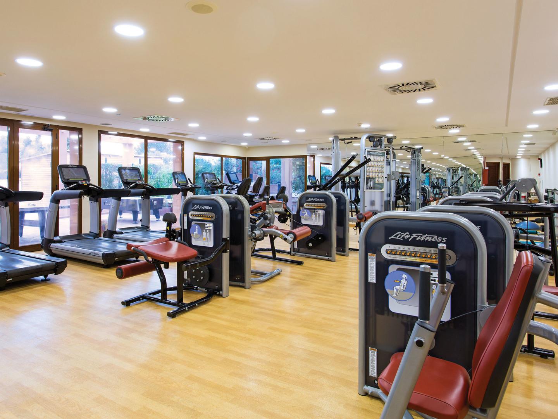 Marriott's Club Son Antem Fitness Center. Marriott's Club Son Antem is located in Mallorca,  Spain.