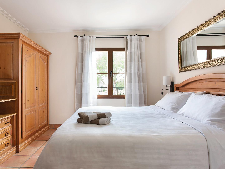 Marriott's Club Son Antem Villa 3rd Bedroom. Marriott's Club Son Antem is located in Mallorca,  Spain.