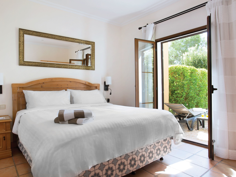 Marriott's Club Son Antem Villa Master Bedroom. Marriott's Club Son Antem is located in Mallorca,  Spain.