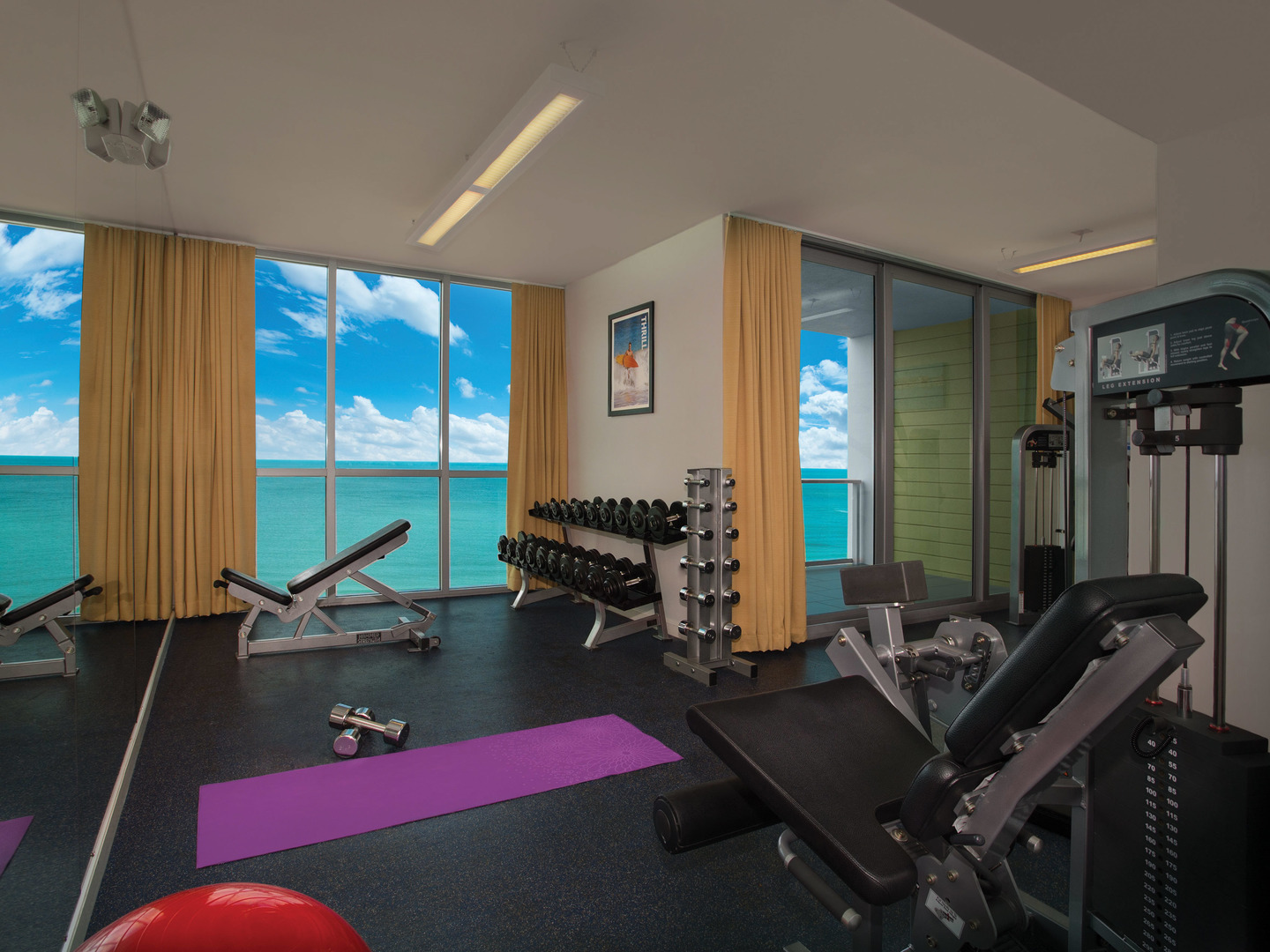 Marriott's Crystal Shores Fitness Center. Marriott's Crystal Shores is located in Marco Island, Florida United States.