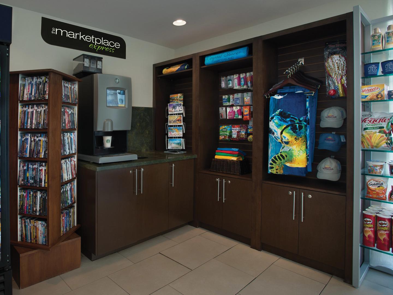 Marriott's Crystal Shores Marketplace Express. Marriott's Crystal Shores is located in Marco Island, Florida United States.
