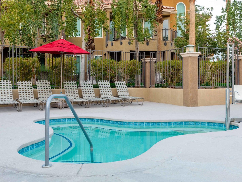 Marriott's Desert Springs Villas Whirlpool Spa. Marriott's Desert Springs Villas is located in Palm Desert, California United States.