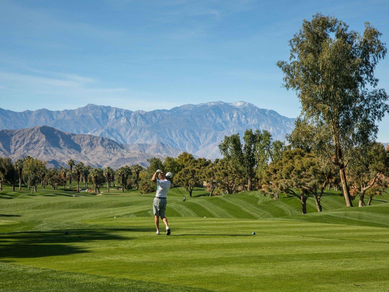 Marriott's Desert Springs Villas Golf/Mountain View. Marriott's Desert Springs Villas is located in Palm Desert, California United States.