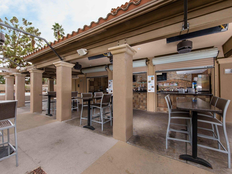 Marriott's Desert Springs Villas Pool Bar and Restaurant. Marriott's Desert Springs Villas is located in Palm Desert, California United States.