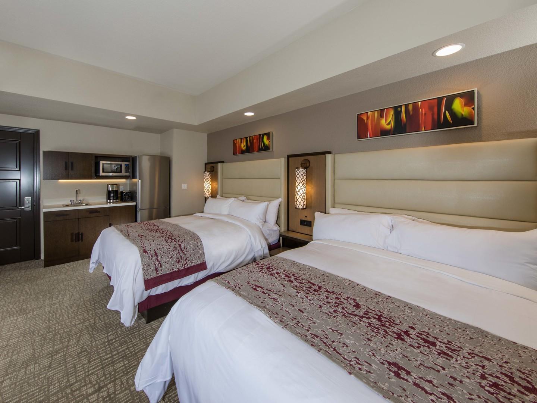 Marriott's Desert Springs Villas Villa Guest Bedroom. Marriott's Desert Springs Villas is located in Palm Desert, California United States.
