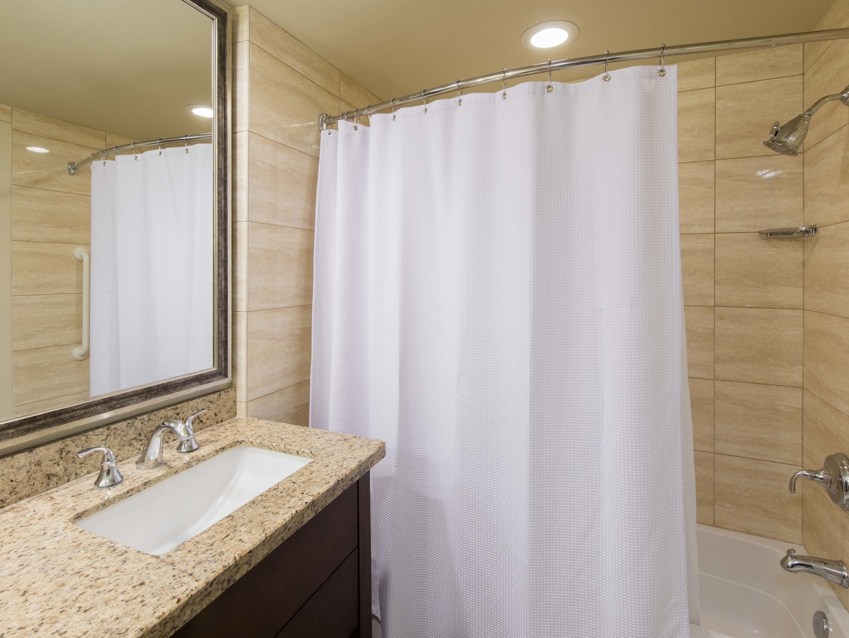 Marriott's Desert Springs Villas Villa Guest Bathroom. Marriott's Desert Springs Villas is located in Palm Desert, California United States.