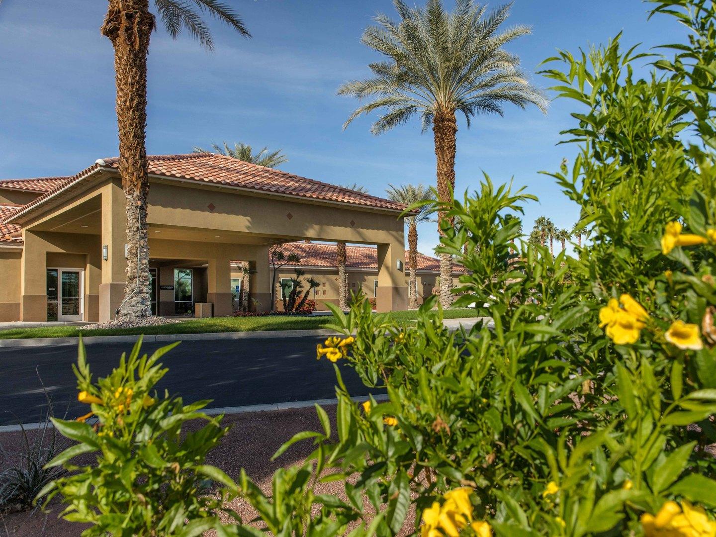 Marriott's Desert Springs Villas II Exterior. Marriott's Desert Springs Villas II is located in Palm Desert, California United States.