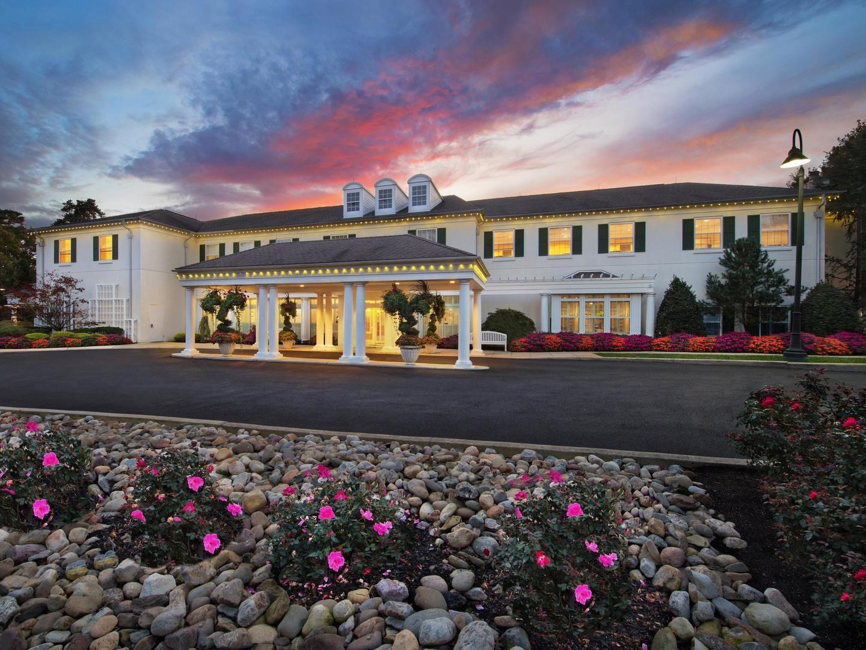 Marriott's Fairway Villas Resort Entrance. Marriott's Fairway Villas is located in Galloway, New Jersey United States.