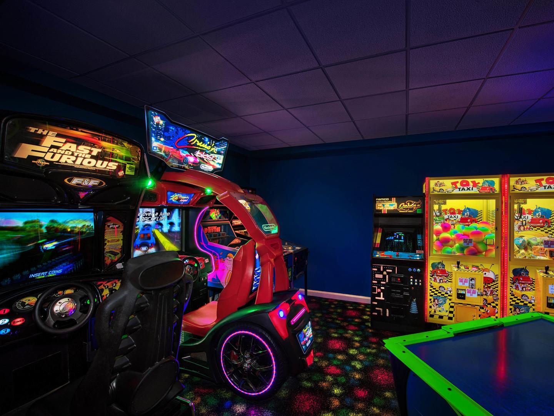 Marriott's Fairway Villas Game Room. Marriott's Fairway Villas is located in Galloway, New Jersey United States.