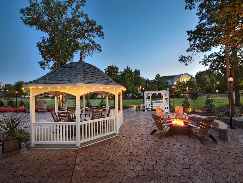 Marriott's Fairway Villas Resort Grounds/Gazebo. Marriott's Fairway Villas is located in Galloway, New Jersey United States.
