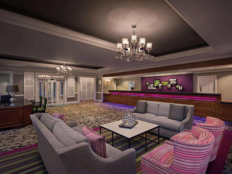 Marriott's Fairway Villas Lobby. Marriott's Fairway Villas is located in Galloway, New Jersey United States.