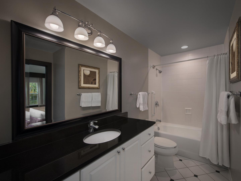 Marriott's Fairway Villas Villa Guest Bathroom. Marriott's Fairway Villas is located in Galloway, New Jersey United States.