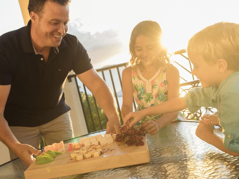 Marriott's Frenchman's Cove Villa Balcony. Marriott's Frenchman's Cove is located in St. Thomas, US Virgin Islands United States.