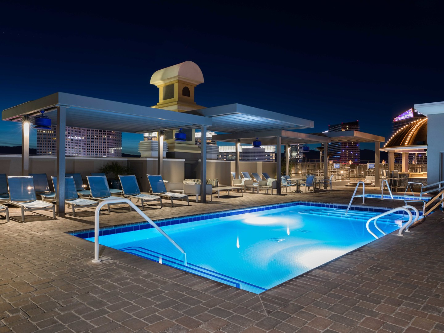 Marriott's Grand Chateau<span class='trademark'>®</span> Resort Roof Top Pool. Marriott's Grand Chateau<span class='trademark'>®</span> is located in Las Vegas, Nevada United States.