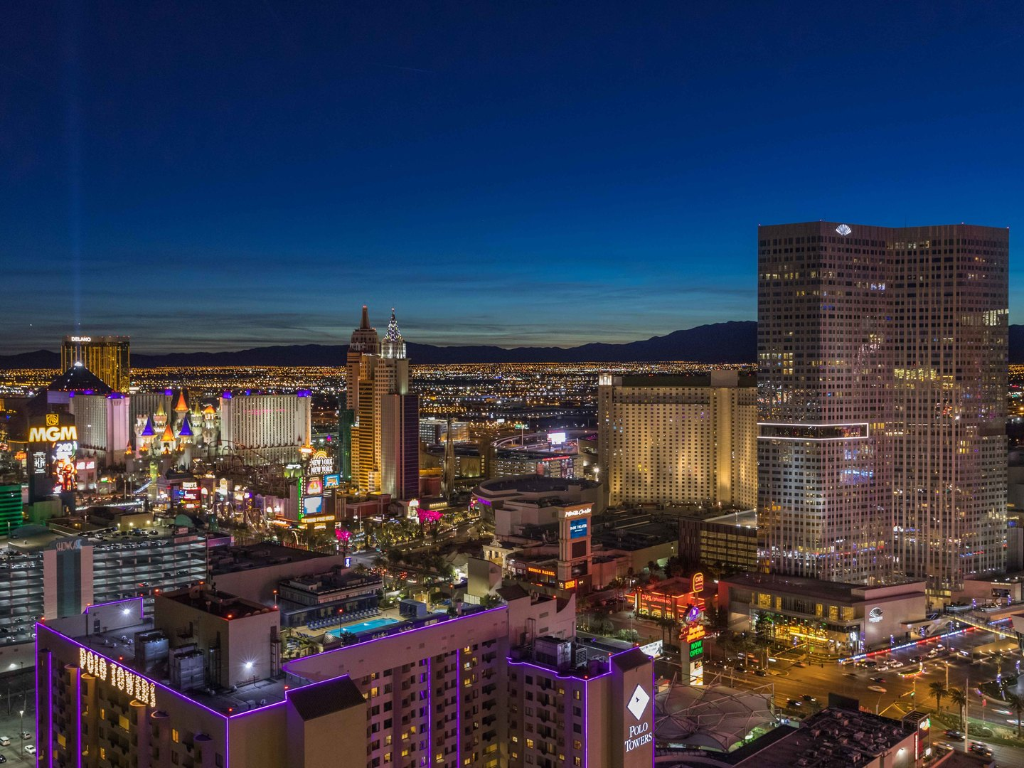 Marriott's Grand Chateau<span class='trademark'>®</span> Roof Top View of the Vegas strip. Marriott's Grand Chateau<span class='trademark'>®</span> is located in Las Vegas, Nevada United States.
