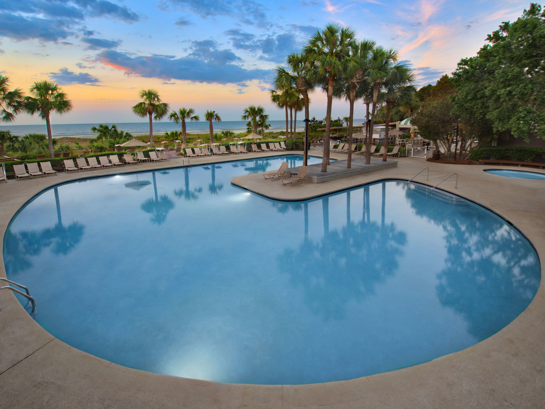 Marriott's Grande Ocean South Pool. Marriott's Grande Ocean is located in Hilton Head Island, South Carolina United States.