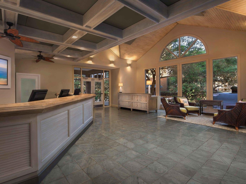 Marriott's Grande Ocean Lobby. Marriott's Grande Ocean is located in Hilton Head Island, South Carolina United States.