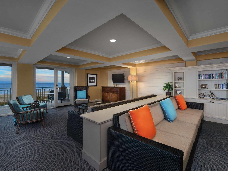 Marriott's Grande Ocean Owners Lounge. Marriott's Grande Ocean is located in Hilton Head Island, South Carolina United States.