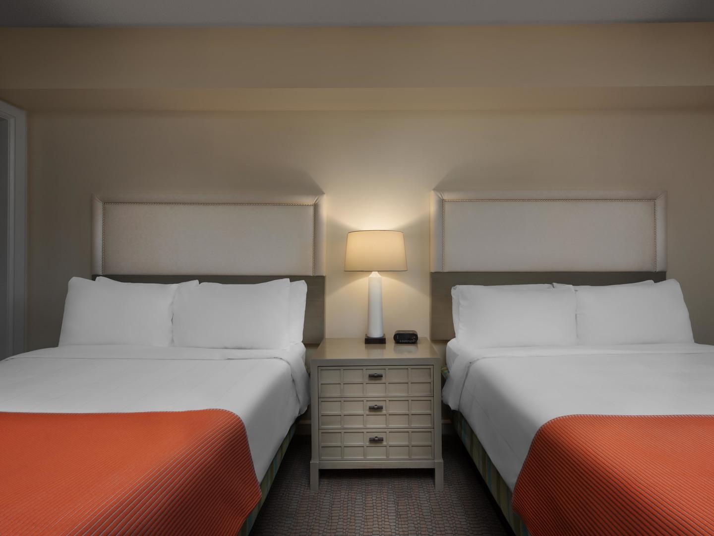 Marriott's Grande Ocean Villa Guest Bedroom. Marriott's Grande Ocean is located in Hilton Head Island, South Carolina United States.